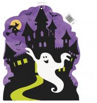 Halloweennatt - Väggdekoration till Halloween