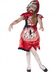 Maskeraddräkt zombie rödluvan Halloween