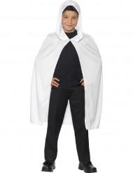 Kape med huva vit barn Halloween