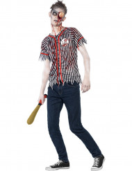 Maskeraddräkt Basebollspelare Zombie ungdom Halloween