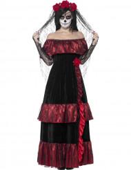 Maskeraddräkt mexikansk maka vuxen Halloween
