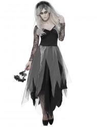 Gift spökkvinna svart Halloween