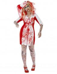 Zombiesjuksköterska - Halloweendräkt för vuxna