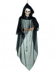 Hängande skelett med kedjor - Halloweenprydnad