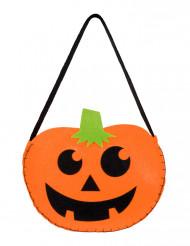 Pumpaformad väska till Halloween