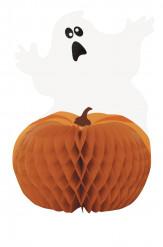 Spöke och pumpa - Bordsdekoration till Halloween