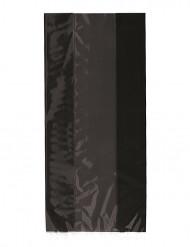 30 Svarta presentpåsar till Halloween 12 x 28 cm