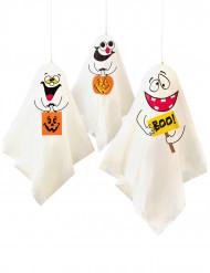 Tre knasiga spöken - Halloweendekoration