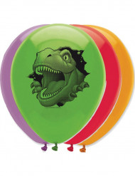6 födelsedagsballonger dinosaurie