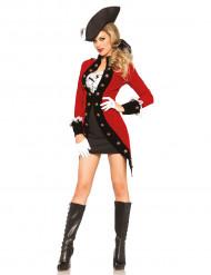 1700-tals pirat - utklädnad vuxen