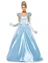 Blå prinsessklänning till balen - Maskeraddräkt för vuxna