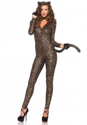 Sexig leoparddräkt dam