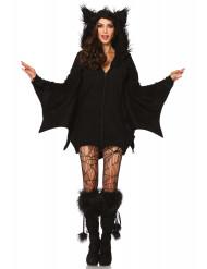 Fladdermusdräkt till Halloween för vuxna