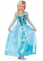 Elsa Maskeraddräkt Barn