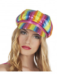 Mångfärgad Hatt