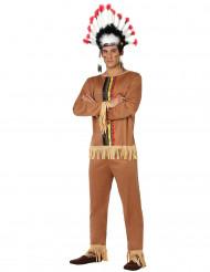 Indian - utklädnad vuxen