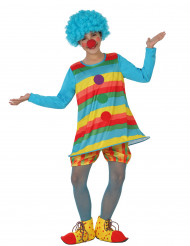 Clownen Karolin barndräkt