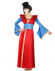 Kostym som japanskinspirerad sällskapsdam