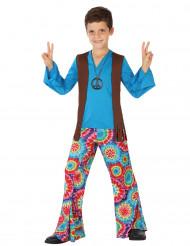 Hippie Maskeraddräkt Blå Barn