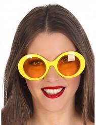 GulaHippieglasögon