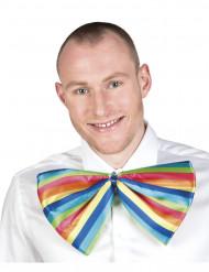 Gigantisk flerfärgad slips