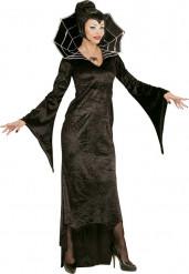 Svart vampyr - utklädnad vuxen Halloween