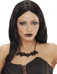 Fladdermus halsband - Halloweentillbehör för vuxna