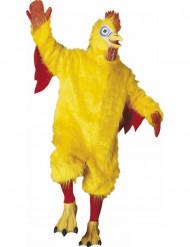 Gul kyckling - utklädnad maskot vuxen