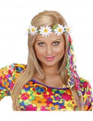 Blommigt pannband för vuxna till sommarfesten