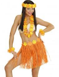 Orangegult Hawaii-kit vuxen