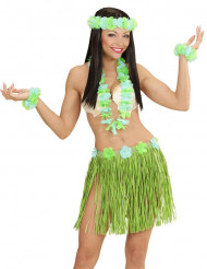 Grönt Hawaii-kit vuxen