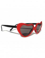 Hjärtformade glasögon
