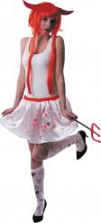 Blodig kjol Halloween