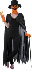 Maskeraddräkt pumpa Halloween vuxen