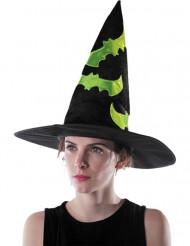 Reflekterande häxhatt Halloween vuxen