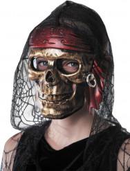 Mask piratdödskalle vuxen