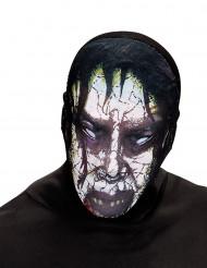 Zombiemask Halloween vuxen