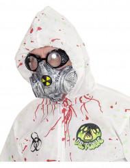 Gasmask Halloween vuxen