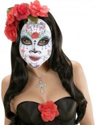 Mask med en liten ros vuxen
