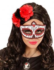 Glittrig mask vuxen