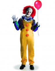 Maskeraddräkt läskig clown vuxen lyx Det™