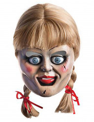 Peruk och mask Annabelle™ vuxen