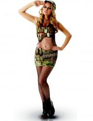Sexig militär - utklädnad vuxen