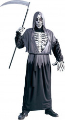 Liemannen Skelett Halloween Maskeraddräkt Vuxen