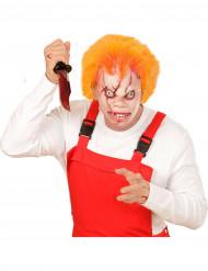 Mördardockemask till Halloween för vuxen