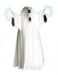 Kaxigt spöke - Halloweendekoration av dragspelspapper