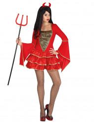 Djävulsdräkt vuxen Halloween