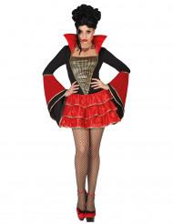 Tjusgi Vampyr - Halloweendräkt för vuxna