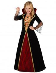 Kunlig vampyrdräkt till Halloween för barn