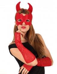 Fabulös djävul - Tillbehörsset för vuxna till Halloween